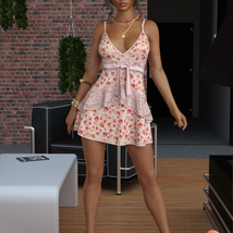 VERSUS - dForce Leah Candy Dress Outfit for Genesis 8 Female(s) image 1