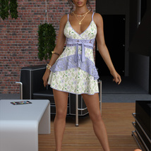 VERSUS - dForce Leah Candy Dress Outfit for Genesis 8 Female(s) image 2