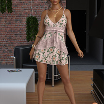 VERSUS - dForce Leah Candy Dress Outfit for Genesis 8 Female(s) image 5