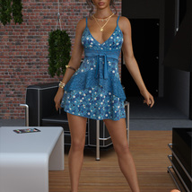 VERSUS - dForce Leah Candy Dress Outfit for Genesis 8 Female(s) image 7