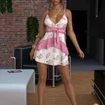 VERSUS - dForce Leah Candy Dress Outfit for Genesis 8 Female(s) image 8