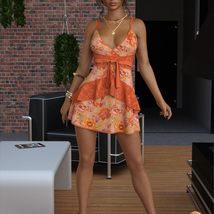 VERSUS - dForce Leah Candy Dress Outfit for Genesis 8 Female(s) image 9
