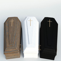 Photo Props: Burial Coffins image 2