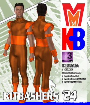 Kitbashers 024 MMG3M 3D Figure Assets MightyMite
