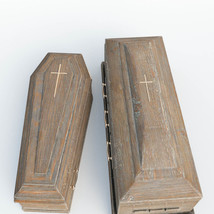 Photo Props: Burial Coffins - Extended License image 1