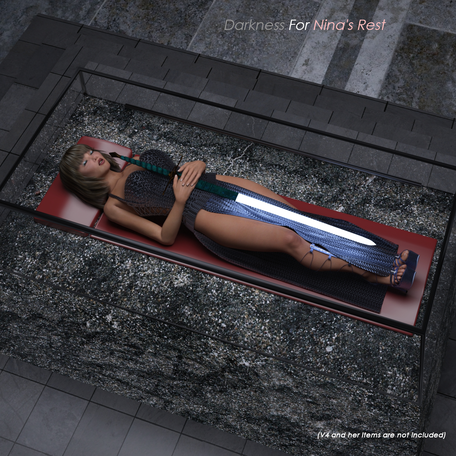 Darkness for Nina's Rest by Cobbler3D