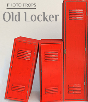 Photo Props: Old Locker for Poser and DS 3D Models ShaaraMuse3D