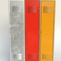 Photo Props: Old Locker for Poser and DS image 2