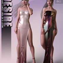 Desire for dForce Conflict Dress G8F image 3