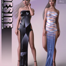 Desire for dForce Conflict Dress G8F image 4