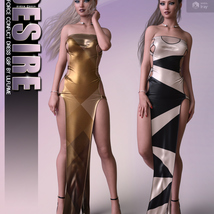 Desire for dForce Conflict Dress G8F image 5