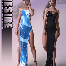Desire for dForce Conflict Dress G8F image 7