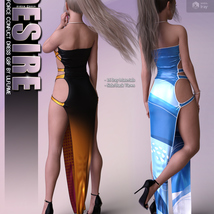 Desire for dForce Conflict Dress G8F image 9