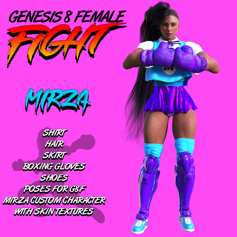 G8F Fight! MIRZA by powerage