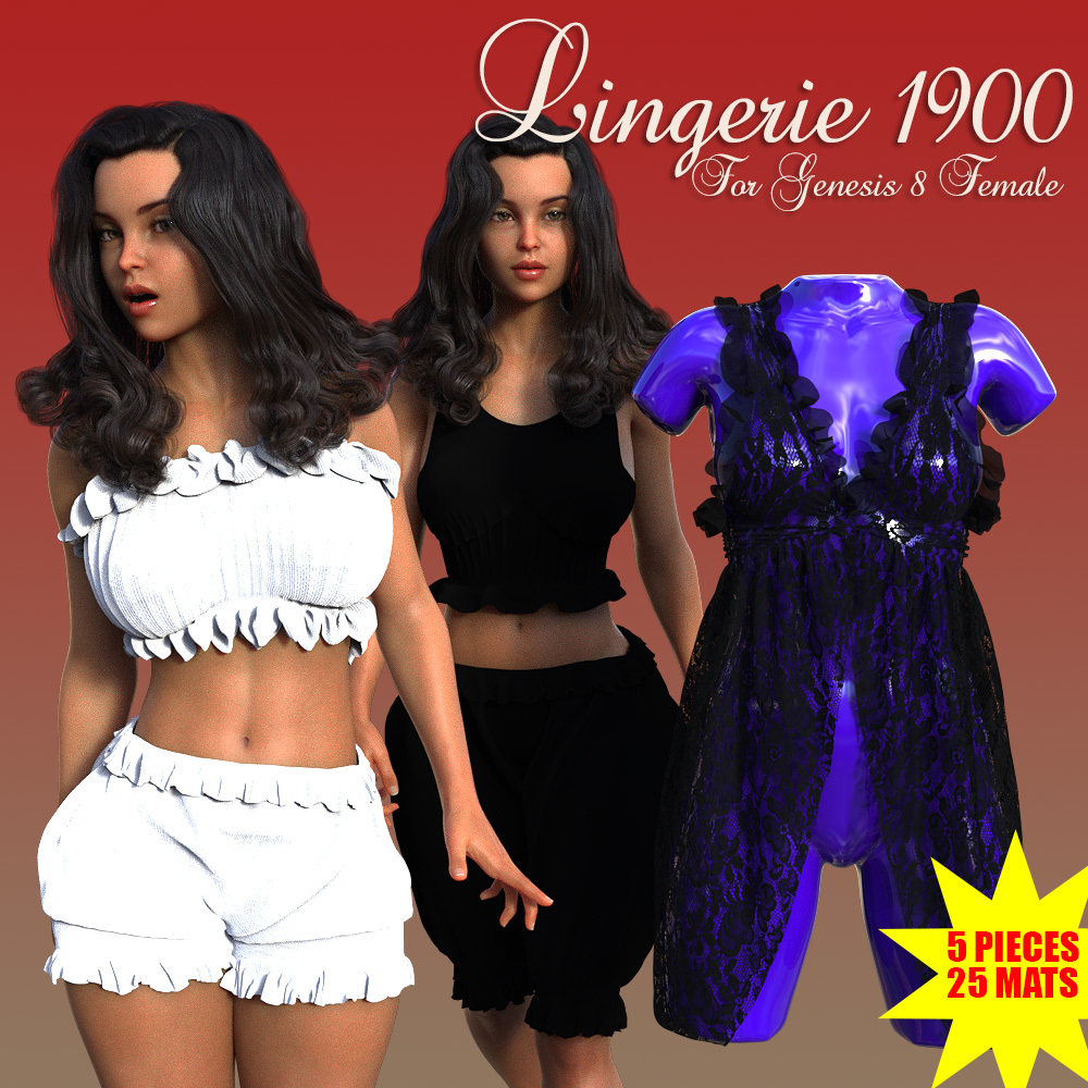 Lingerie 1900 for G8F by powerage