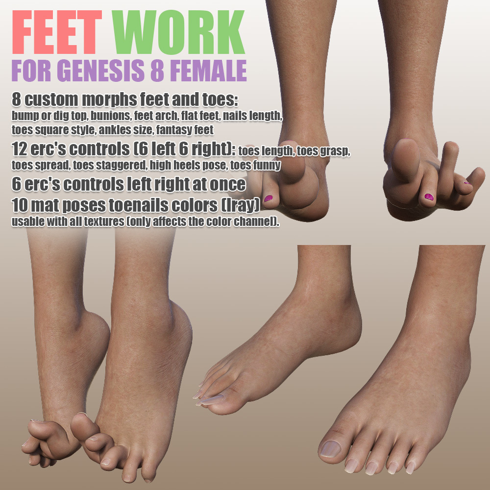 Feet Work for G8F by powerage