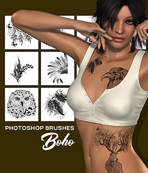 PB - Boho 2D Graphics Merchant Resources Atenais