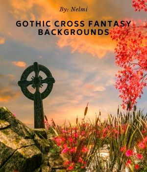 10 Gothic Cross Fantasy Backgrounds 2D Graphics Merchant Resources nelmi