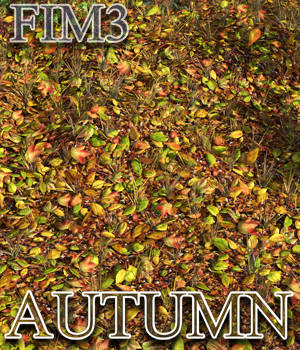 Flinks Instant Meadow 3 - Autumn Add-on 3D Models Flink