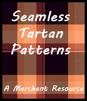 Seamless Tartan Patterns 2D Graphics Merchant Resources adarling97