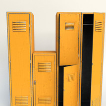 Photo Props: Old Locker for Poser and DS - Extended License image 1