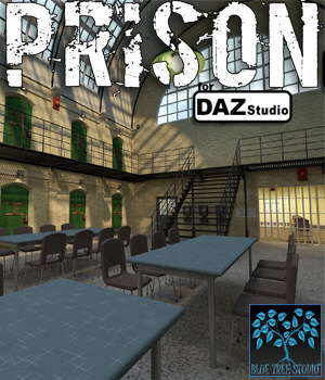 Prison for DAZ|Studio 3D Models BlueTreeStudio