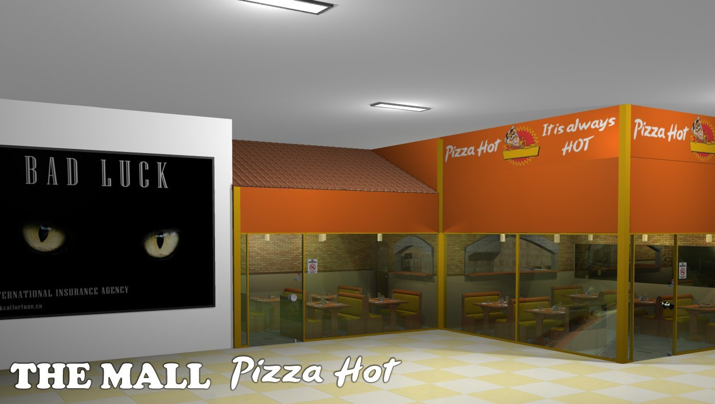 The Mall - Pizza Hot - Extended License by greenpots