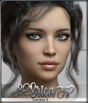 SASE Erica for Genesis 8 3D Figure Assets Sabby