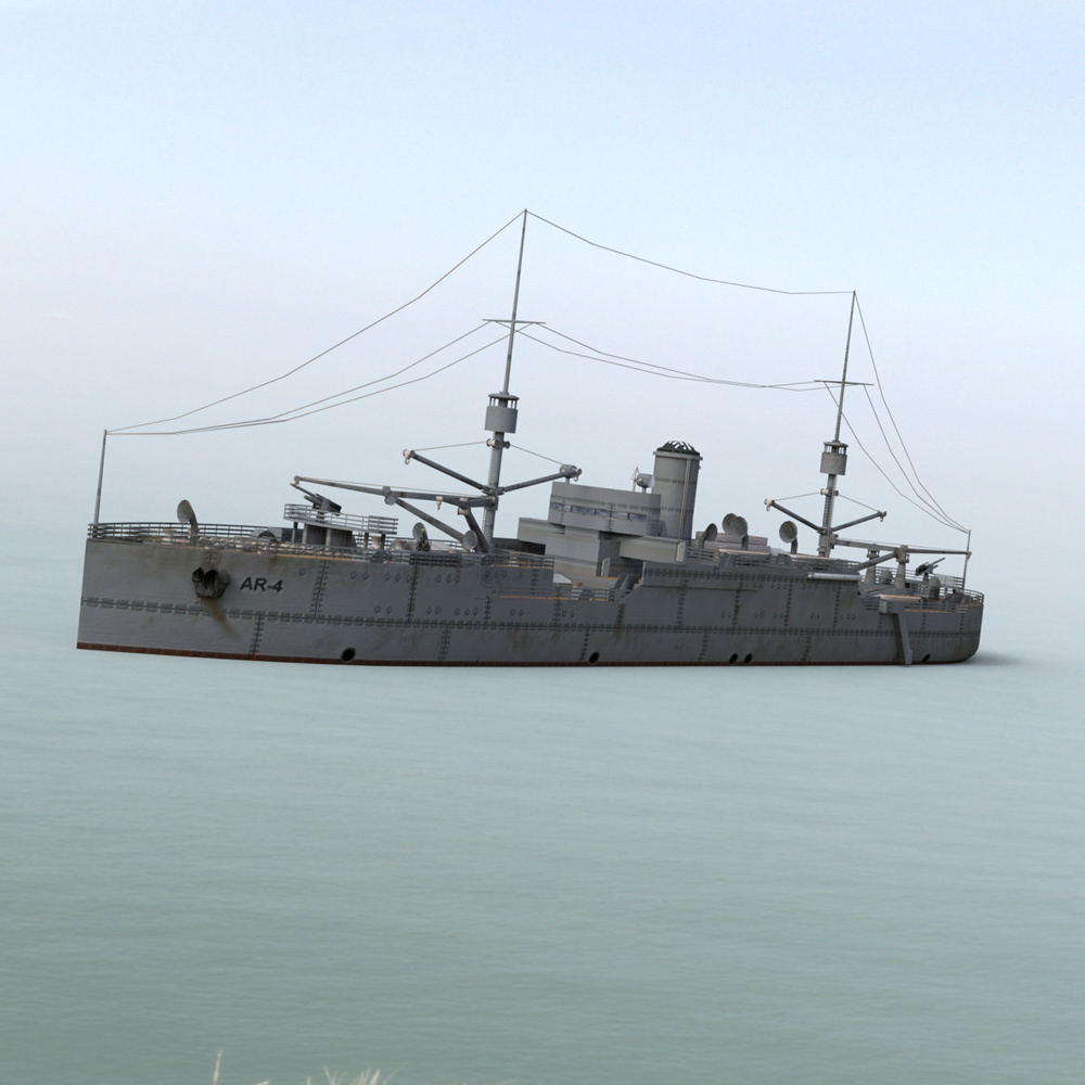 USS Vestal for DAZ Studio by VanishingPoint