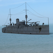 USS Vestal for DAZ Studio image 2