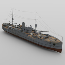 USS Vestal for DAZ Studio image 6