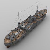 USS Vestal for DAZ Studio image 7