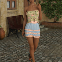 InStyle - JMR dForce Summer Town Outfit 3 for G8F image 1