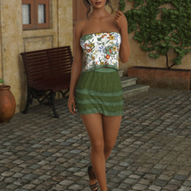 InStyle - JMR dForce Summer Town Outfit 3 for G8F image 4