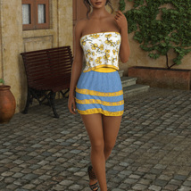 InStyle - JMR dForce Summer Town Outfit 3 for G8F image 5