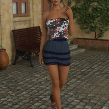 InStyle - JMR dForce Summer Town Outfit 3 for G8F image 6