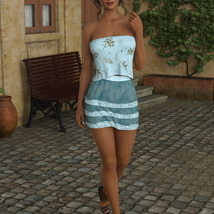 InStyle - JMR dForce Summer Town Outfit 3 for G8F image 7