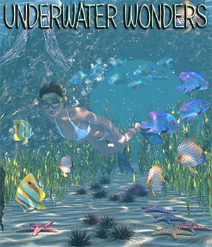 Underwater Wonders for Poser 3D Models 2nd_World