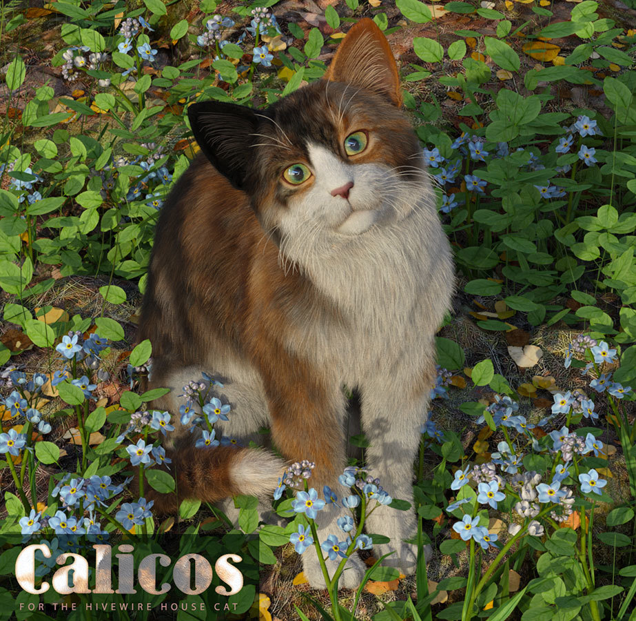 CWRW Calicos for the HW House Cat by cwrw