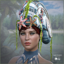 Snail Queen for G3F G8F image 1
