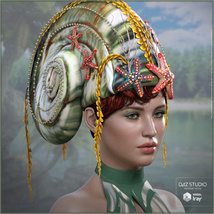 Snail Queen for G3F G8F image 2