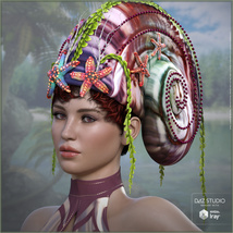 Snail Queen for G3F G8F image 3