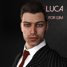 Luca for Genesis 3 Male - Extended License image 7