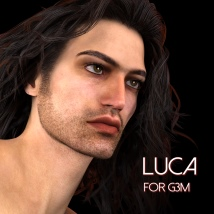 Luca for Genesis 3 Male - Extended License image 8