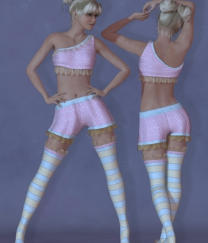 LaFemmePixie-1-EXPANSION 3D Figure Assets 3DTubeMagic