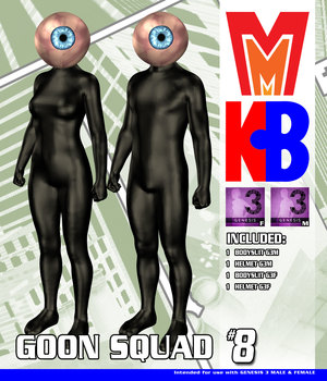 Goon Squad 008 MMKBG3 3D Figure Assets MightyMite