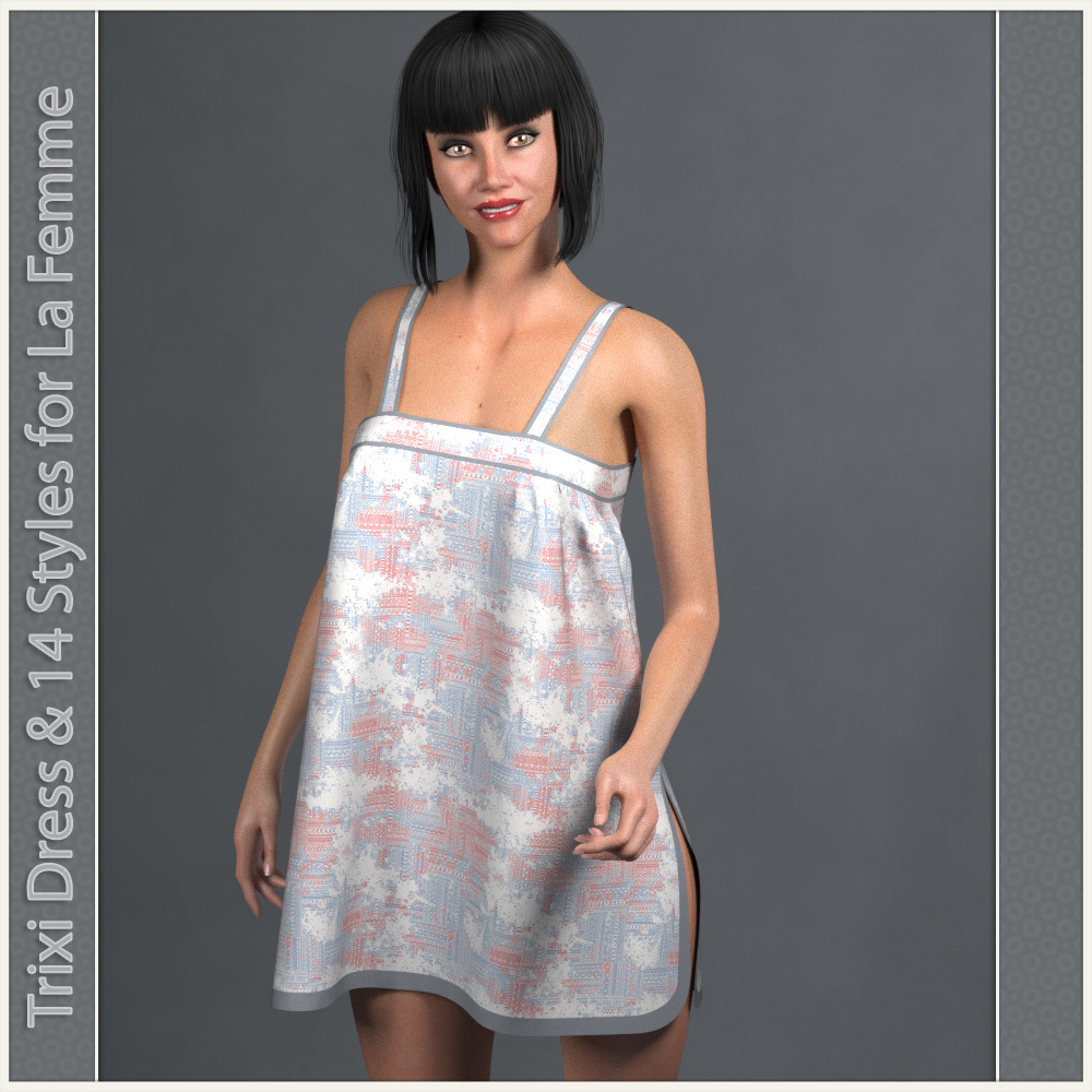 Trixi Dress and 14 Styles for La Femme by karanta