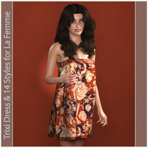 Trixi Dress and 14 Styles for La Femme image 1