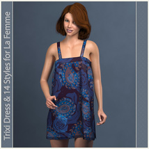 Trixi Dress and 14 Styles for La Femme image 2