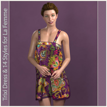 Trixi Dress and 14 Styles for La Femme image 3